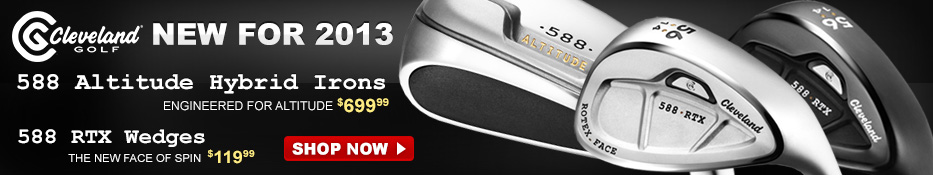 Cleveland Irons and Wedges - New for 2013