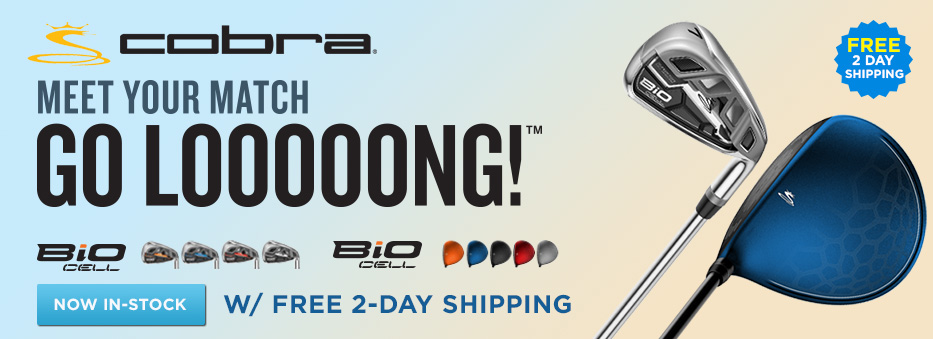 Go Long with Cobra BiO Cell from GolfDiscount.com