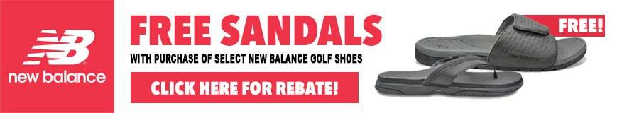 New Balance Free Sandal Promo