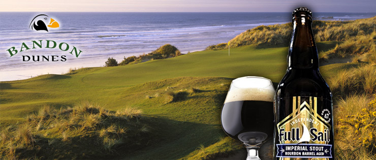 bandon dunes golf course and full sail beer pairing