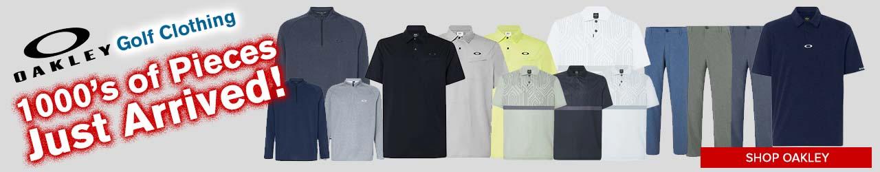 Closeut Oakley Golf Apparel at GolfDiscount.com