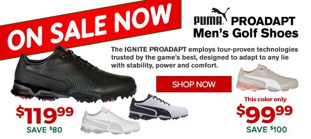 Puma Proadapt Golf Shoes at GolfDiscount.com