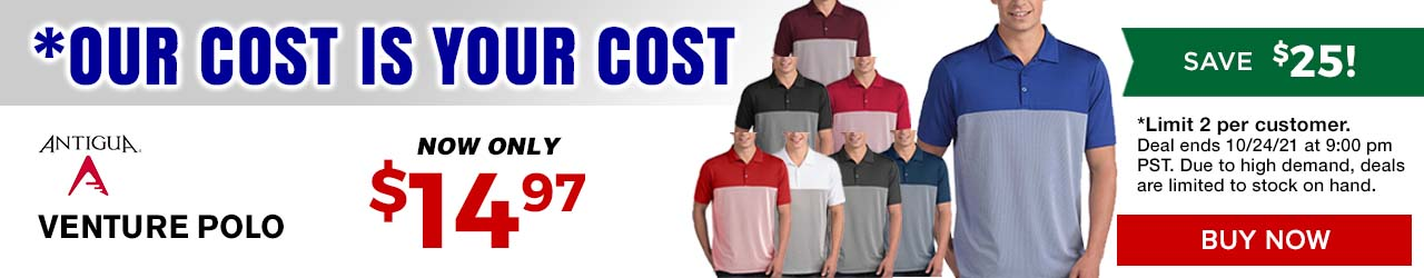 Our Cost is Your Cost Special