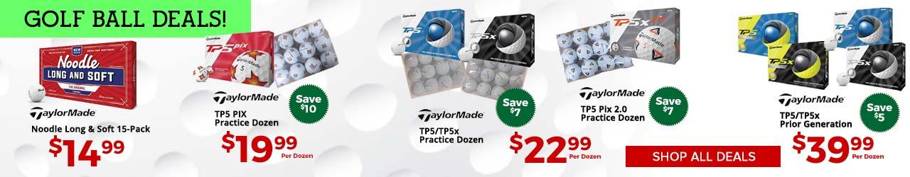 Featured TaylorMade Golf Balls at GolfDiscount.com
